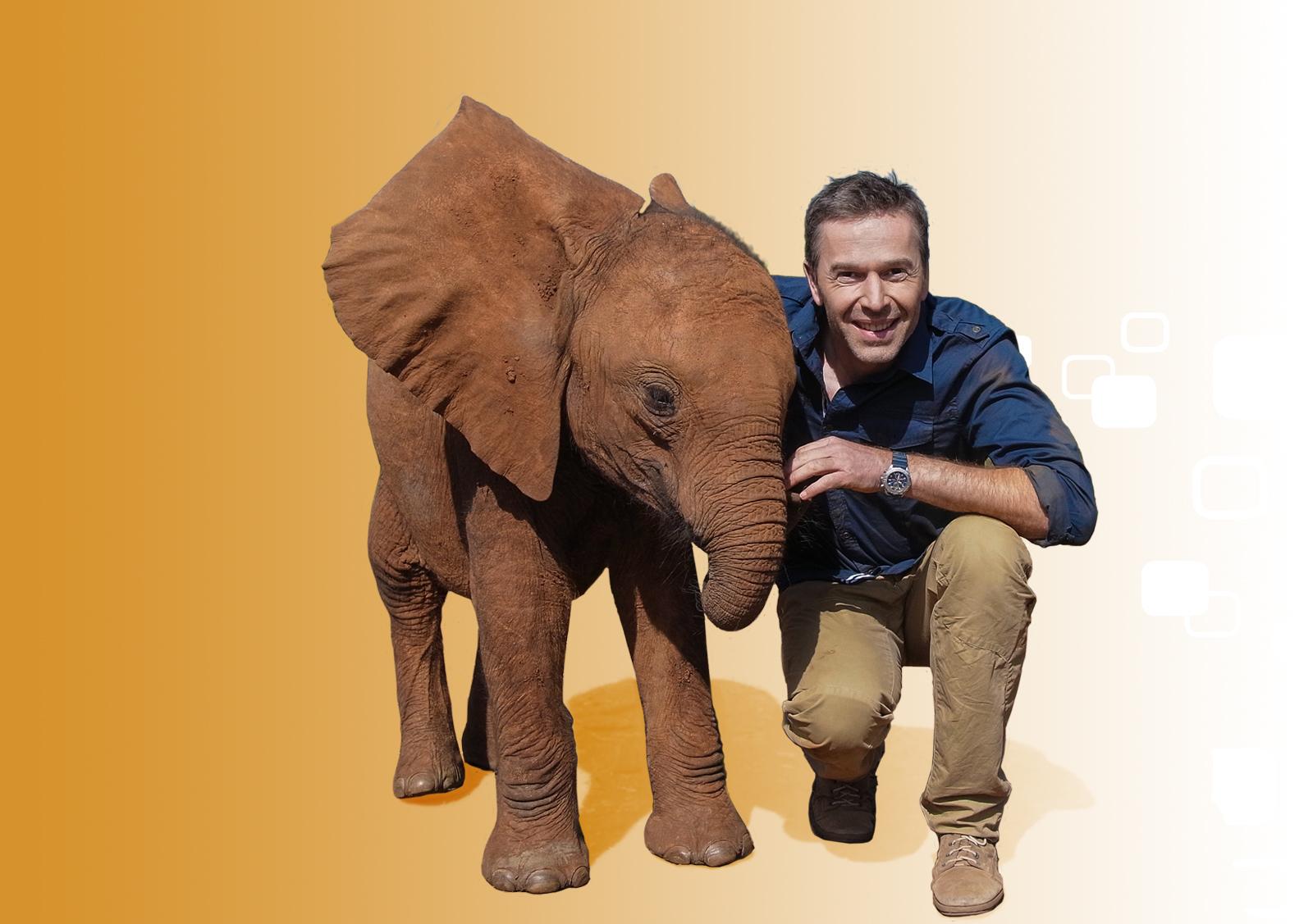 WWF-Botschafter Dirk Steffens